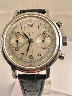 クロノグラフ腕時計大型男性用 ギャレット マルチクロン・ビンテージ・クロノグラフ