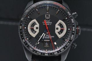 タグホイヤー グランドカレラ カリブレ17 RS2 CAV518B クロノグラフ チタン 時計 ボックス付き