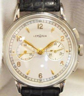 クロノグラフ腕時計、レマニアCH27・ビンテージ、ステンレススチール、クロノグラフ、直径34.5mm