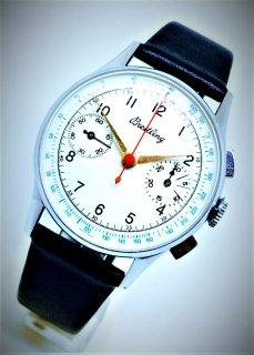 1940年代 ヴィンテージ ブライトリング クロノグラフ ランデロン48 スイス製腕時計