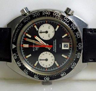 04 ホイヤー ステンレス製 オータビア バイセロイ 腕時計