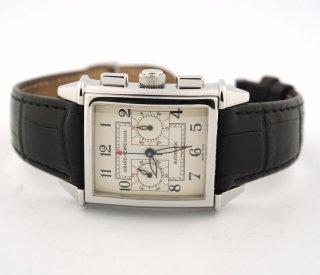 クロノグラフ腕時計 ジラードペルゴ ビンテージ1945クロノグラフ 2599 スチール製