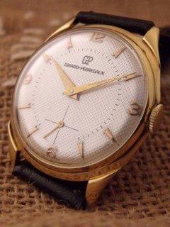 ジラールペルゴ ゴールプレート腕時計
