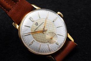 ヴィンテージ ジラールペルゴ ゴールドプレート 腕時計