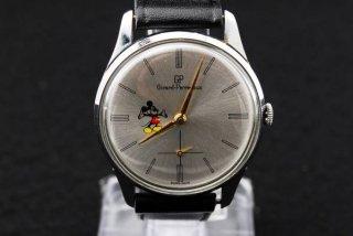 ジラールペルゴ ミッキーダイヤル腕時計