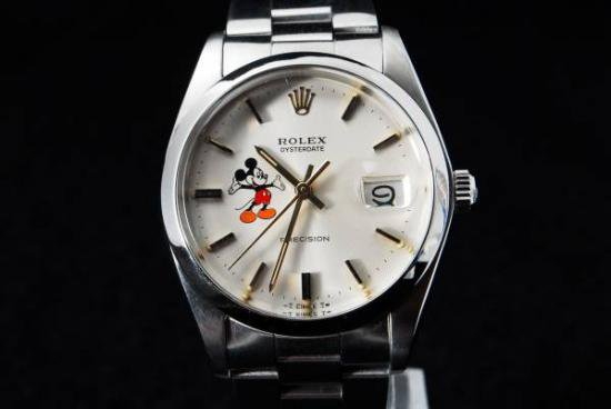 brand new c295f 196da ロレックス オイスターデイト Ref.6694 ミッキーダイアル腕時計 - ミリタリー時計専門店 ミリタン