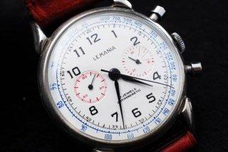 レマニア LEMANIA クロノグラフ 手巻き時計