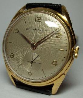ジラード・ペルゴ ビンテージ 男性用スイス製腕時計