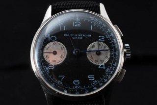 BAUME & MERCIER ボーム&メルシエ クロノグラフ腕時計