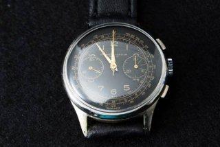 BAUME & MERCIER ボーム&メルシエ クロノグラフブラックダイヤル腕時計