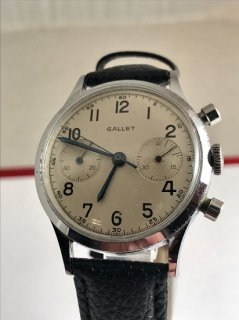 収集価値あり ギャレット クロノグラフ 男性用腕時計