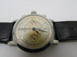 ビンテージ ホイヤー クロノグラフ バルジュー 手巻き メンズ腕時計