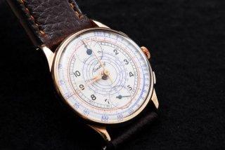 ブライトリング クロノグラフ キャリバー170 腕時計 ゴールドコーティング