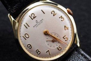 ブライトリング Brelitling ゴールドプレート腕時計