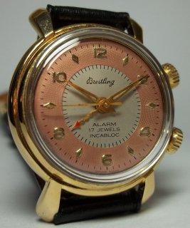 ブライトリング アラーム メンズ時計 手巻き 2色の文字盤