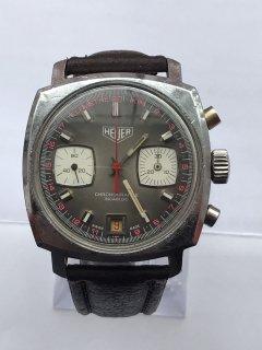 ヴィンテージ 貴重 美しい ホイヤー クロノグラフ  バルジュー ムーブメント 腕時計