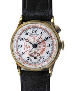 ブライトリング ワンボタン スモールサイズ クロノグラフ腕時計 男性用