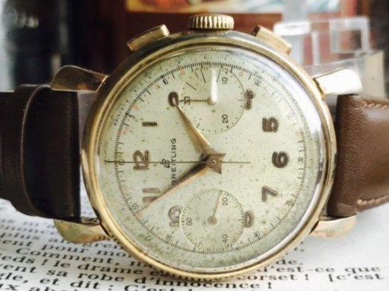 official photos 42f1b b1f7d ヴィンテージ ブライトリング 手巻き ヴィーナス188 1951年製 オーバーホール済み - ミリタリー時計専門店 ミリタン