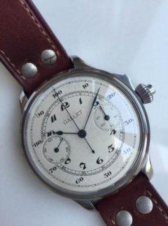 ギャレット ヴィンテージ クロノグラフ 機械式手巻き腕時計
