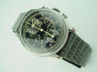 ギャレット マルチクロン レギュレーター(Gallet MultiChron Regulator)クロノグラフ ミラーダイヤル ヴィンテージ 1930年度 機械式腕時計−希少品