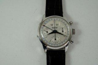 ヴィンテージ ギャレットトリプル カレンダー(Gallet Triple Calendar) クロノグラフ バルジュー723(Valjoux 723) 機械式腕時計