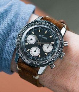 ジャガールクルト シャーク・ディープ・シー E2643 スチール ビンテージワールドタイマー時計