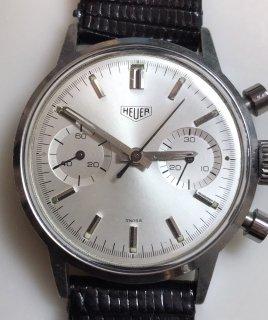 ホイヤー(Heur)ヴィンテージ クロノグラフ メンズウォッチ VALJOUX 7733 Ref. 7721 1960年代