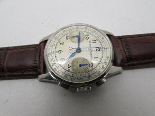 ユリスナルダン ヴィンテージクロノグラフ 手巻き式メンズ腕時計