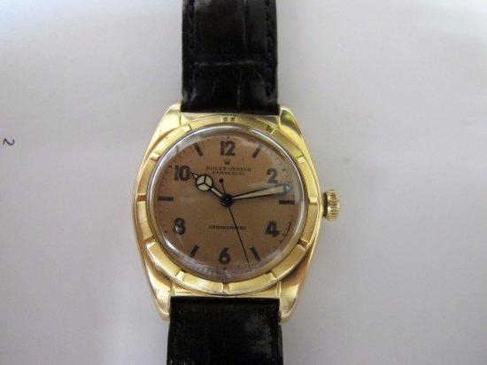 brand new f884b ae081 ロレックス(ROLEX)アンティーク 18K ピンクゴールド メンズウォッチ REF. 5011 1940年代
