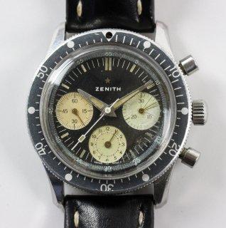 ゼニス(Zenith)ヴィンテージ ダイバークロノグラフメンズウォッチ Ref. a277 Cal. 146hp 1960年代