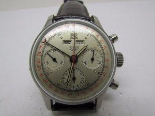 ホイヤー(Heuer)ヴィンテージ トリプルデート クロノグラフメンズウォッチ Cal. 72C 1950年代