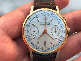 TH.PICARD FILS バルジュー22 クロノグラフ腕時計