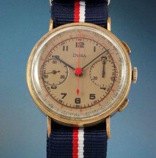 ドクサ バルジュー22 クロノグラフ腕時計 スイス製40年代