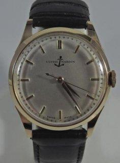ユリスナルダン アンティーク ローズゴールド(18金)腕時計