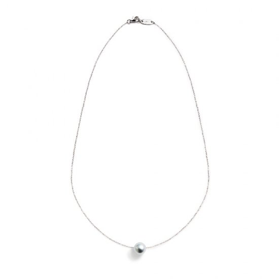 spinster necklace/ pearl 【silver】