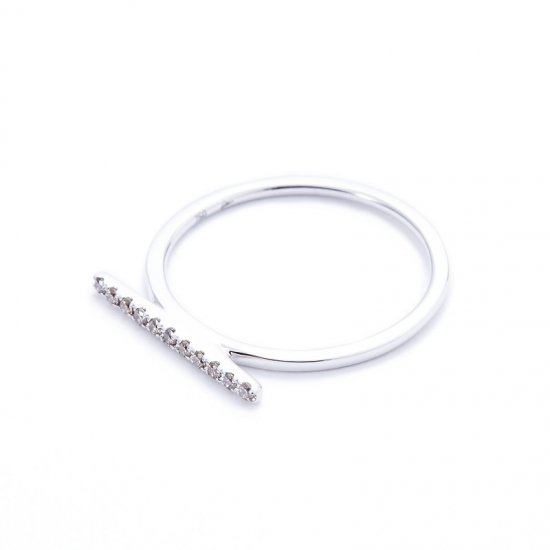 anorexia line ring / browndiamond