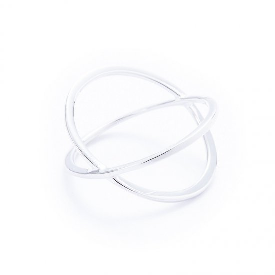 anorexia cross ring / double