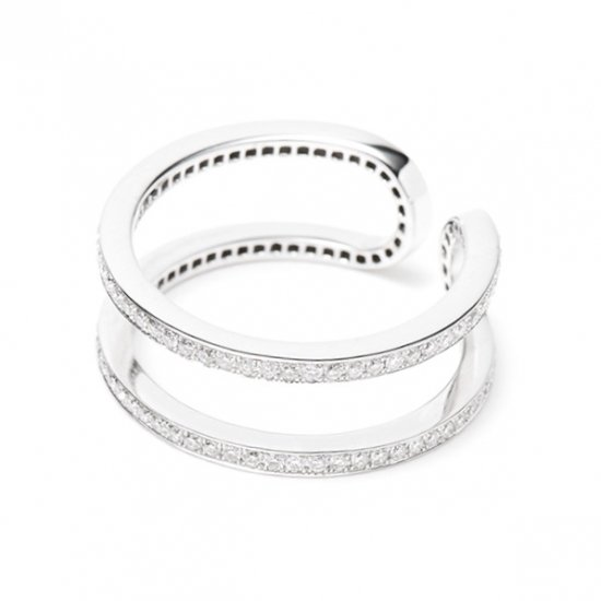 combination side ring / diamond