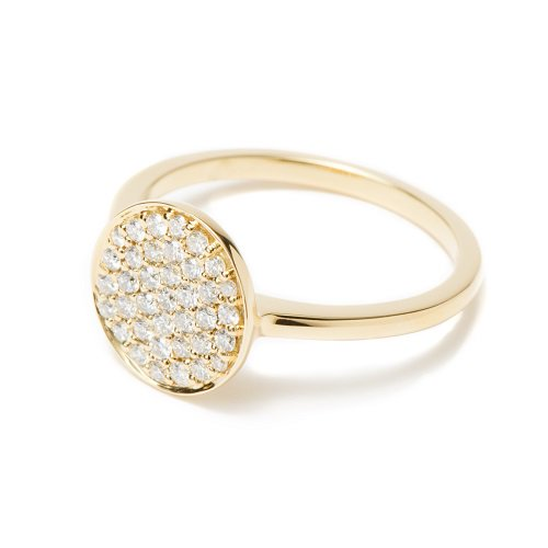 circle ring / diamond