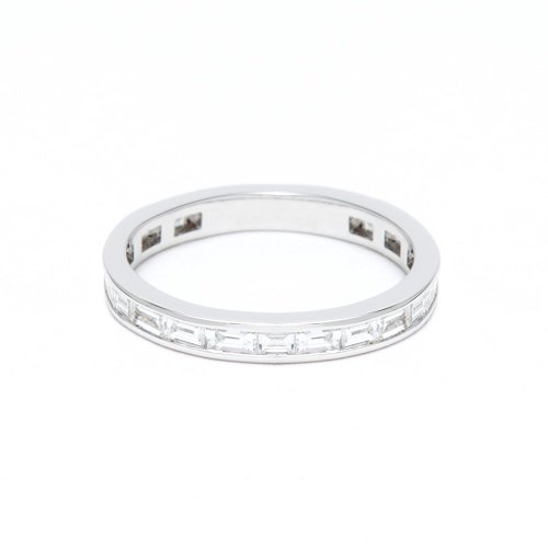 4/5 eternity ring / baguette diamond