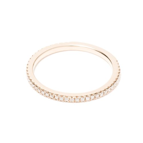 4/5 eternity ring / diamond