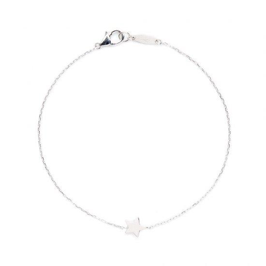 flat charm bracelet / stardust