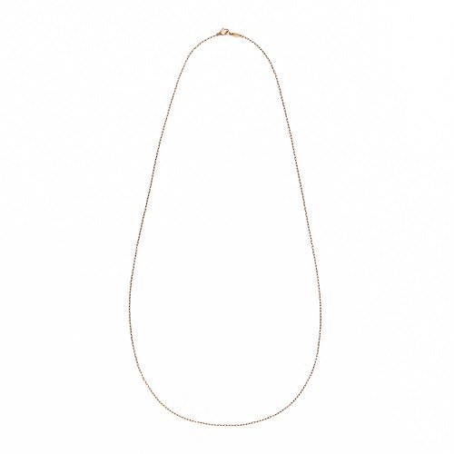 BG thin chain / long necklace