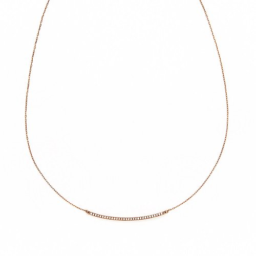 obedient necklace / browndiamond