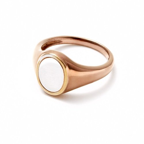 stamp pinky ring / mix