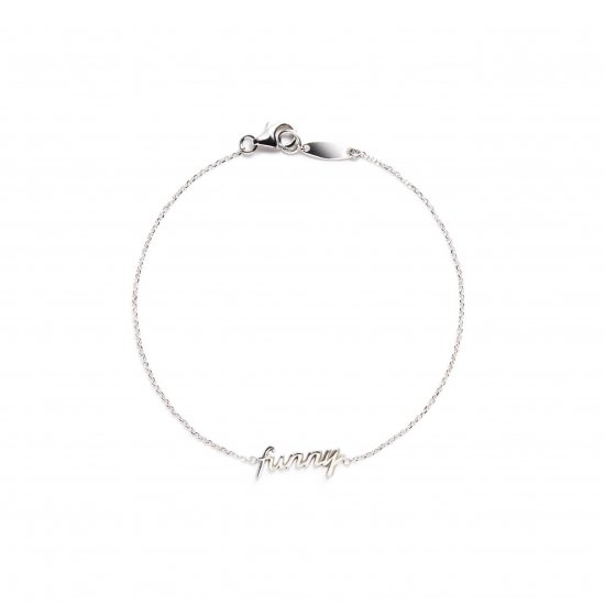 message bracelet / funny