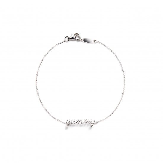 message bracelet / yummy