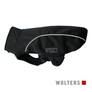 ソフトシェルジャケット ベーシック 22cm ブラック/反射