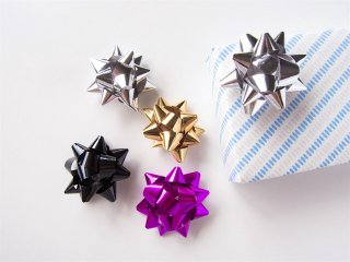 Mini Metallic Gift Bow
