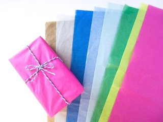 color wrapping tissue paper ・カラー薄紙(50×70cm/3枚セット)